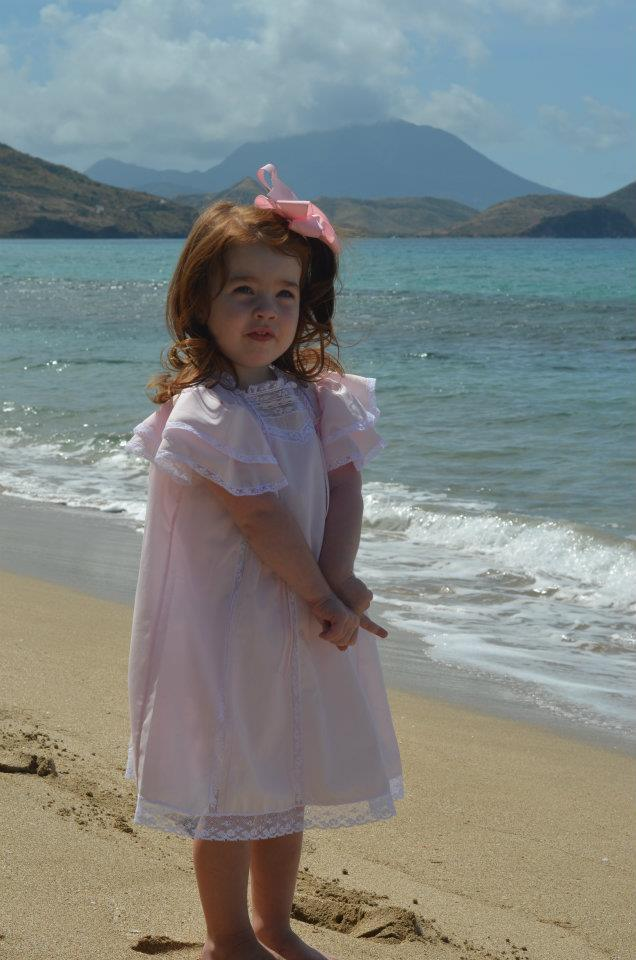 Maddy Easter in St. Kitts