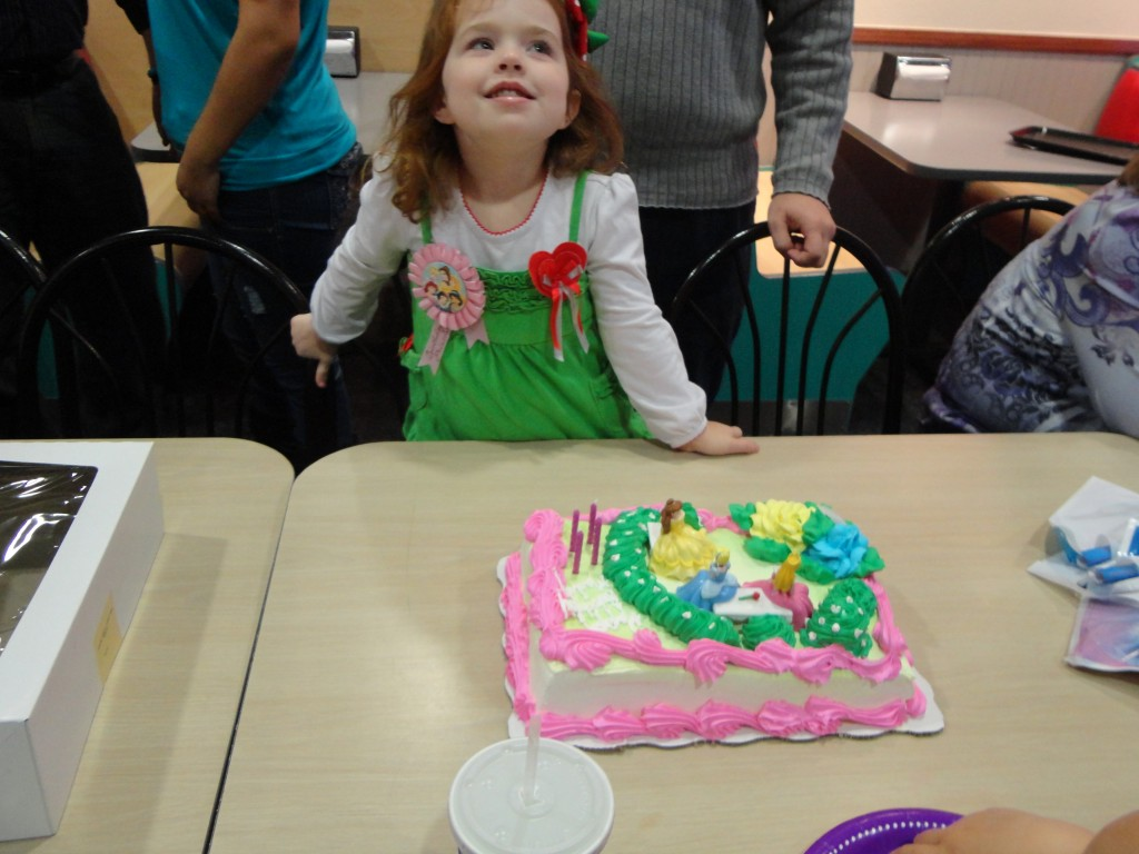 Maddy's Princess Birthday at Chuck E. Cheese