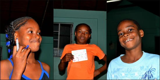 Kids at Good News Club in St. Kitts
