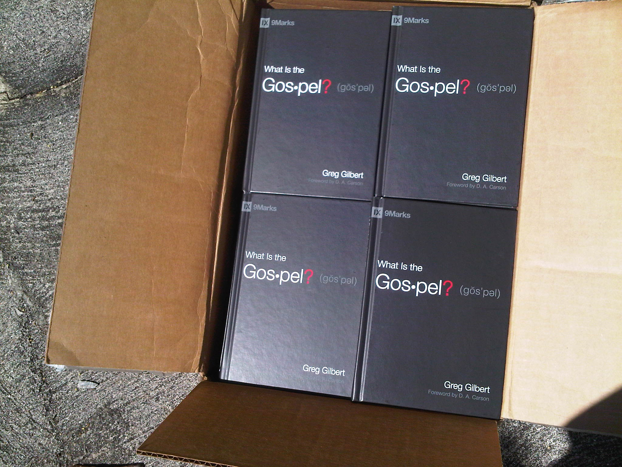 What Is The Gospel? Books Are Here