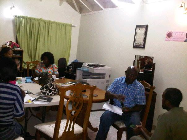 Fall TCE Class in St. Kitts