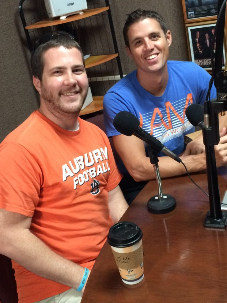 Brandon and I back on radio!